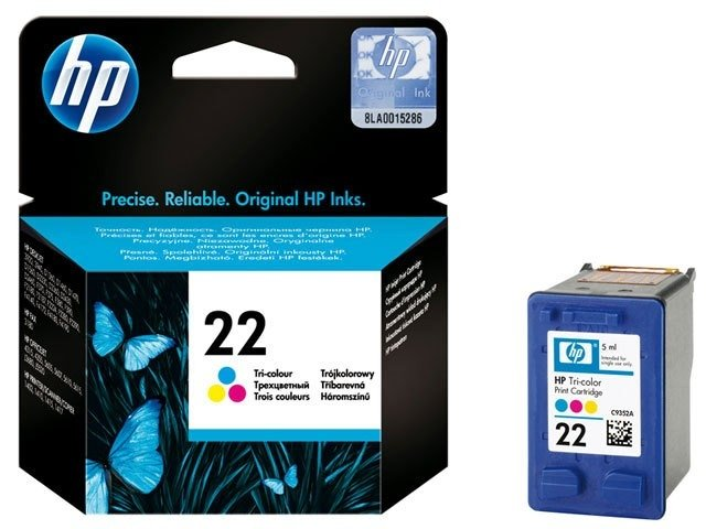 Cartucho HP 22 color 6ml