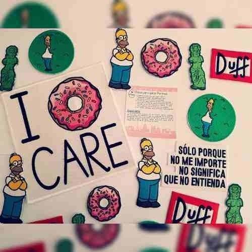 Homero Simpson Frase Parche Bordado