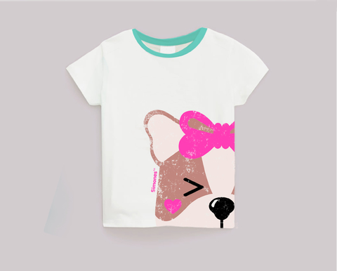 REMERA ICON SOFIA  BLANCO