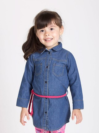 Camisa denim beba en internet