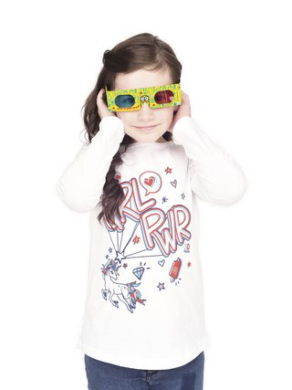 Remera Girl Power 3D