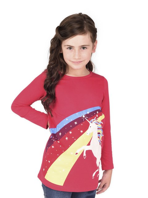 Remera Rainbow Glow en internet