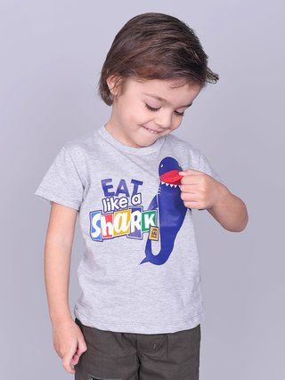 REMERA EAT LIKE SHARK - comprar online