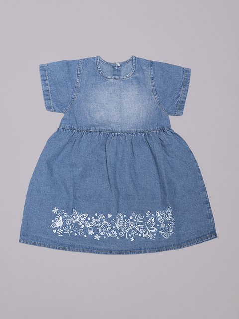 Vestido Denim Butterfly en internet