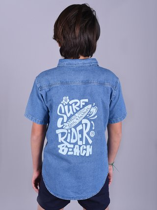Camisa Denim Surf