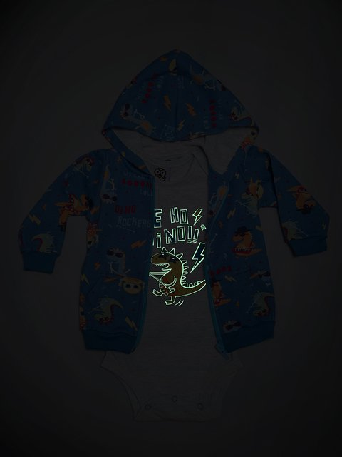 Campera y Body Dino Rock - comprar online