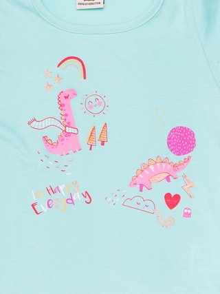 Remera Dino Winter - comprar online