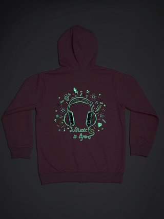 Campera Music Chill - comprar online