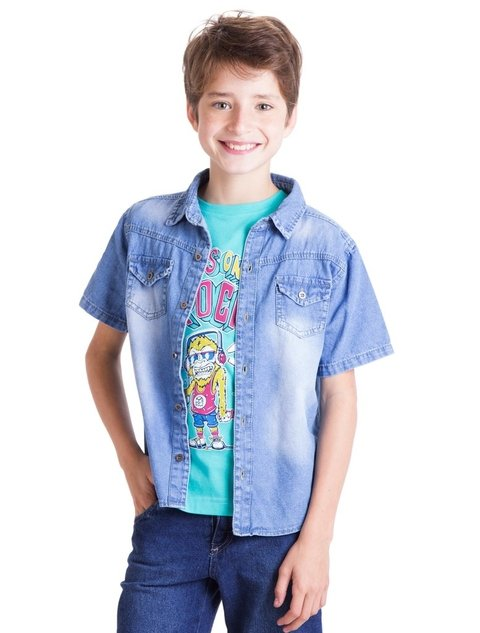 Camisa Denim Boys