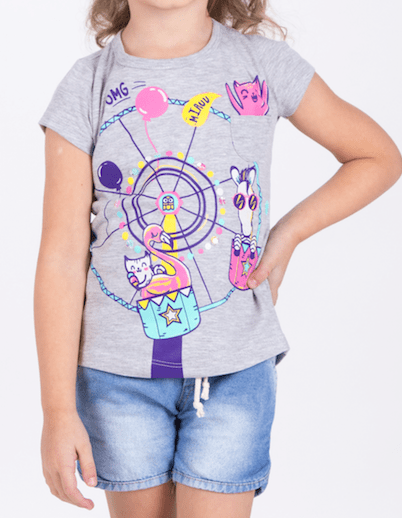 Remera calesita stickers