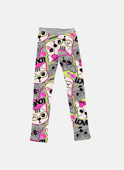 LEGGING SOFIA & FRIENDS GRIS