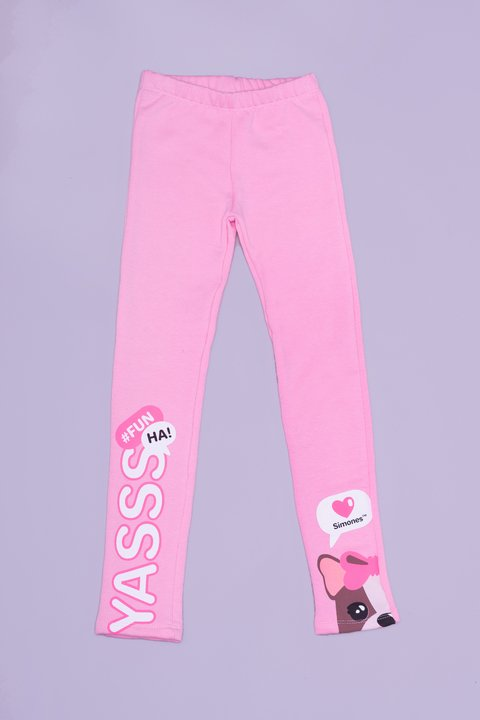 Leggings frisa icon Rosa