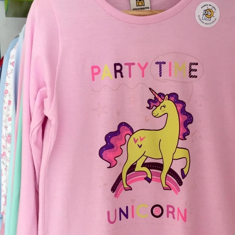 REMERA PARTY TIME UV
