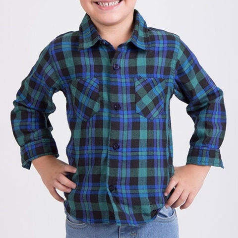 CAMISA ESCOCES BEBE
