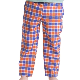 PANTALON ESCOCES NARANJA