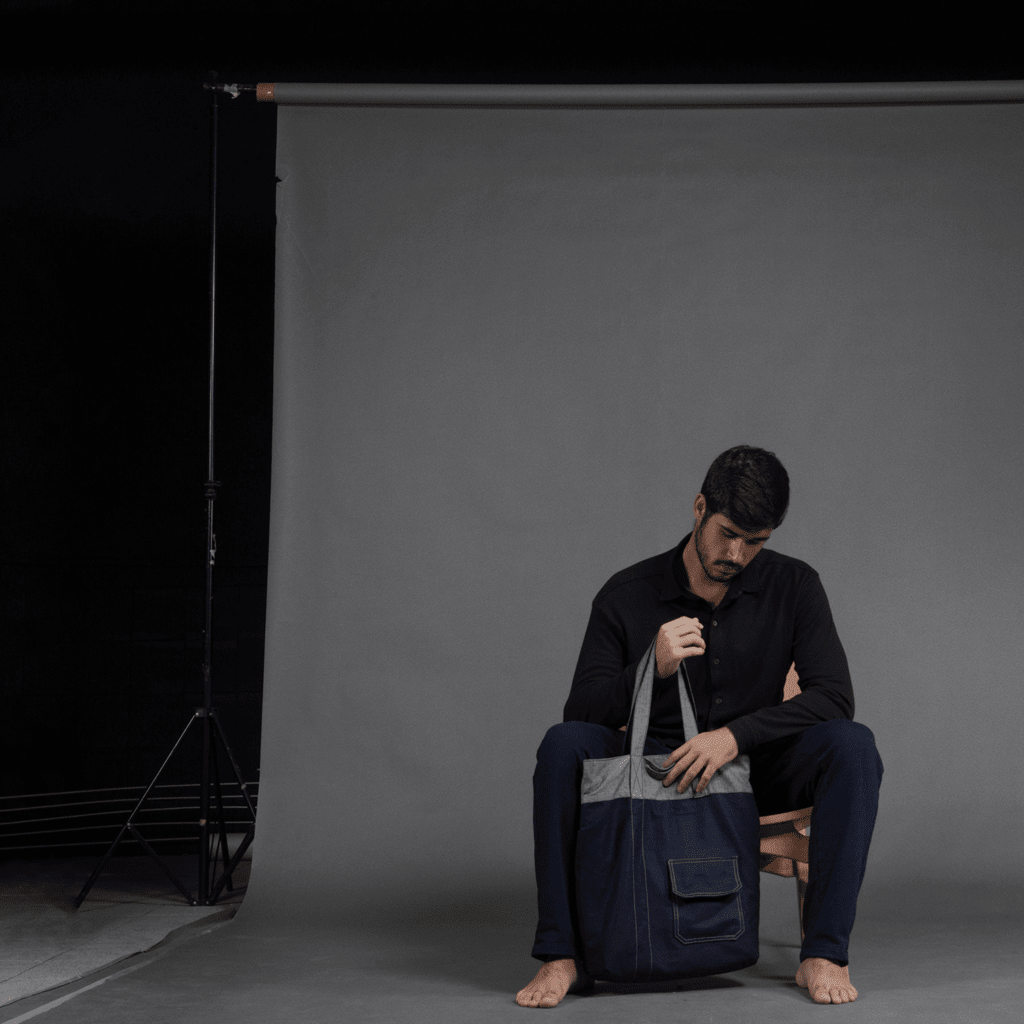 Explorer Tote Eco-Jeans | .MATER
