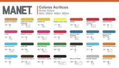 ACRILICO DECORATIVO MANET 50ml Grupo 1 en internet