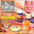 Tempera Alba Magic 275gr x3 Colores fluo