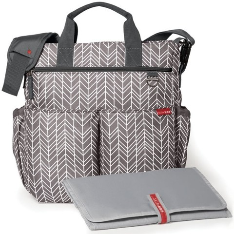 Bolsa Maternidade - Duo Signature - Grey Feather - Skip Hop