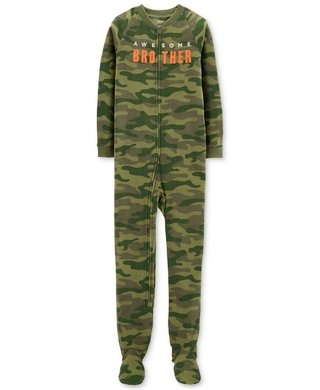 Pijama Macacão - Awesome Brother Camo - Carter's