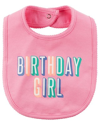 Babador - Birthday Girl - Carter's - comprar online
