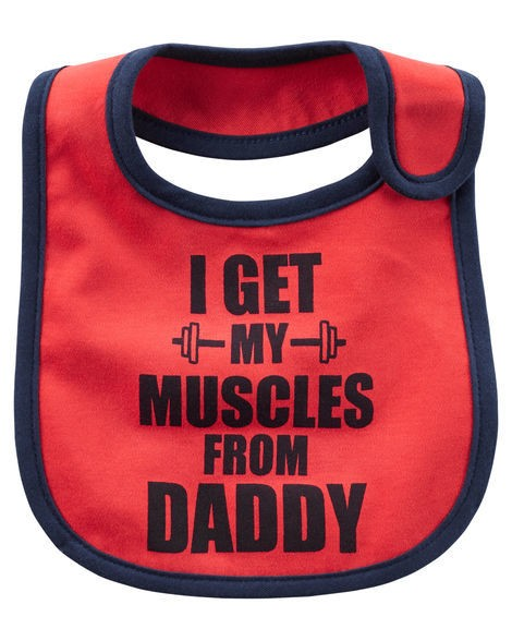 Babador - Muscles From Daddy - Carter's