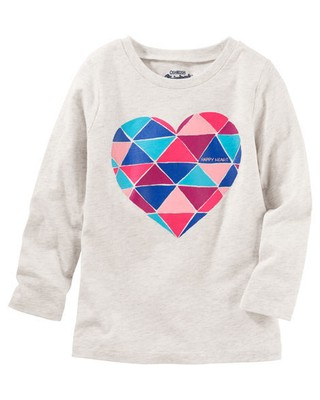 Camiseta Happy Heart - OshKosh B'gosh