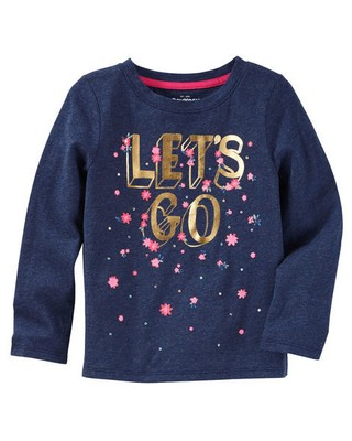 Camiseta Let's Go - OshKosh B'gosh