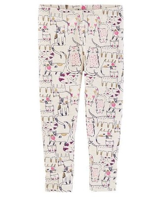 Calça Leggings Cat Print Leggings - OshKosh B'gosh
