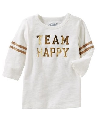 Camiseta Team Happy - OshKosh B'gosh