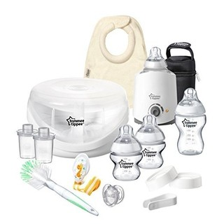Kit Completo Mamadeira - Tommee Tippee - 15 peças - Transparente