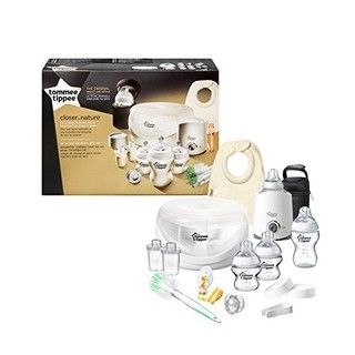 Kit Completo Mamadeira - Tommee Tippee - 15 peças - Transparente na internet