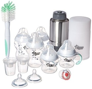Kit Completo Mamadeira - Tommee Tippee - 13 peças - Transparente