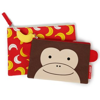 Kit Necessaire Zoo - Macaco - Skip Hop