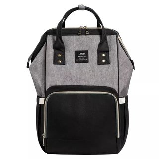 Bolsa Maternidade - Black & Grey - LAND