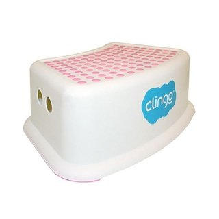 Degrau infantil Step Dots Rosa - Clingo