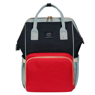 Bolsa Maternidade - Red & Black - LAND