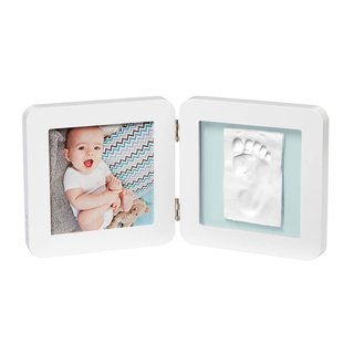 My Baby Touch Porta-Retrato Duplo White - Baby Art