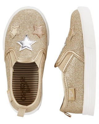 Sneaker Metallic Star Slip-On - OshKosh B'gosh