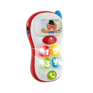 Brinquedo Bilingue ABC Selfie Phone - Chicco