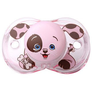 Chupeta - Keep-It-Kleen - Cachorro Rosa - RaZbaby