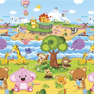 Tapete Baby Play Mat Médio - Animal Friends - Safety 1st