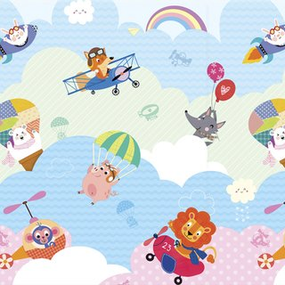Tapete Baby Play Mat Médio - I Love Sky - Safety 1st