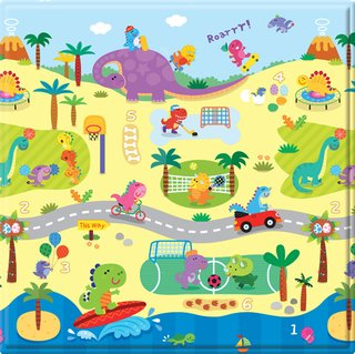Tapete Baby Play Mat Pequeno - Dino Sports - Safety 1st