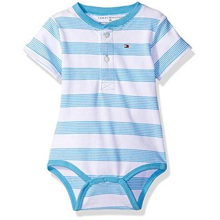 Body - Manga Curta - Striped Zen Blue - Tommy Hilfiger