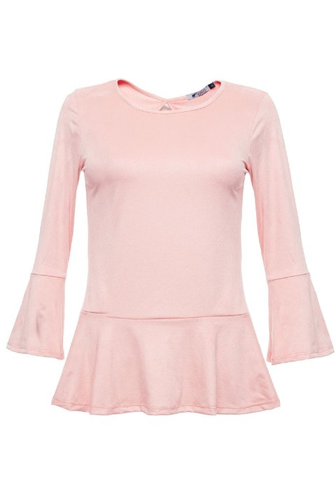 Blusa Lily Suede Rosa