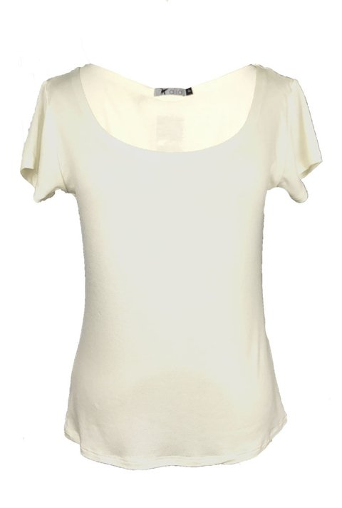 T-shirt Básica Podrinha Off White