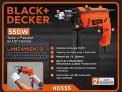 Taladro Percutor Black And Decker 13mm 550w Hd555