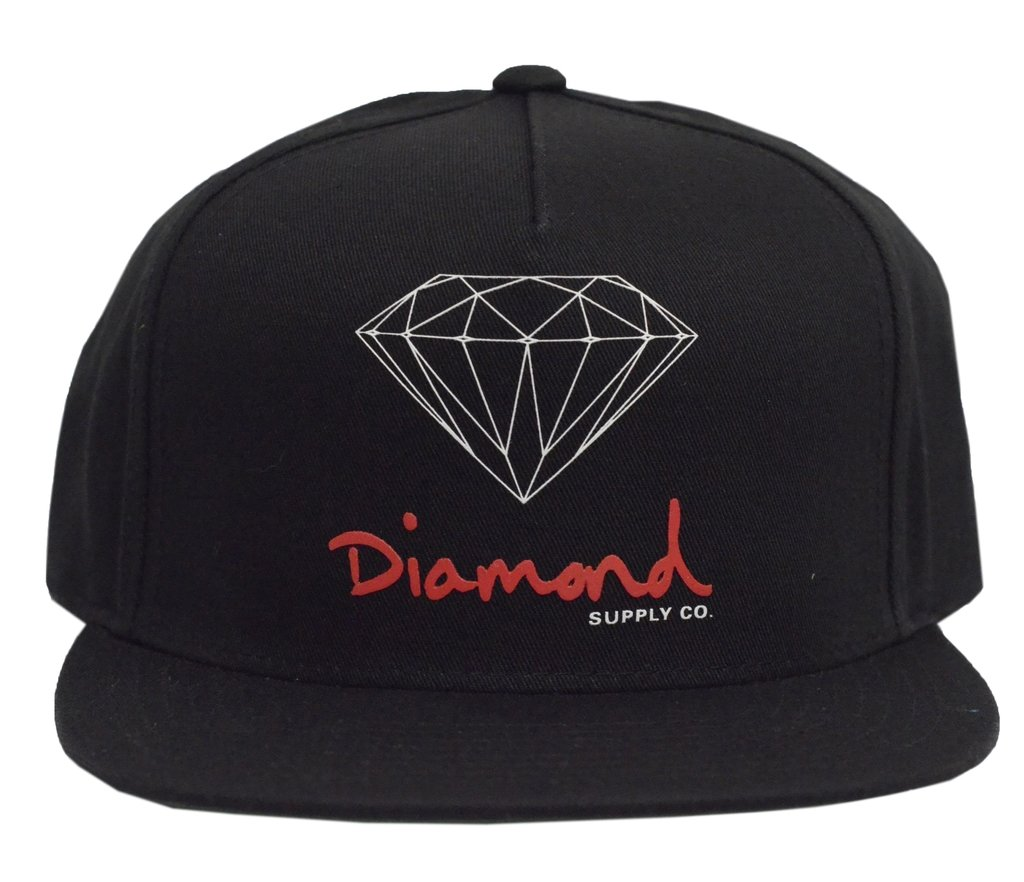 4e12bcf328dad BONÉ DIAMOND OG SIGN SNAPBACK BLACK - Street 14