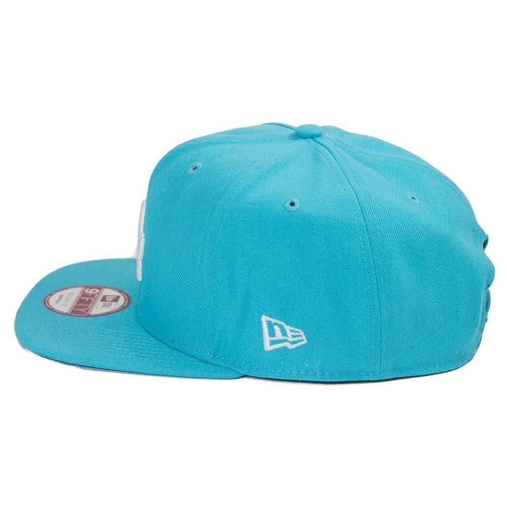 c0b53ca95 Boné New Era SnapBack 9fifty New York Azul Claro